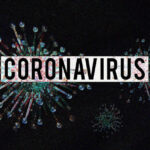 Image of virus particles and the word coronavirus, representing the available COVID-19 resources for California employers and small businesses.
