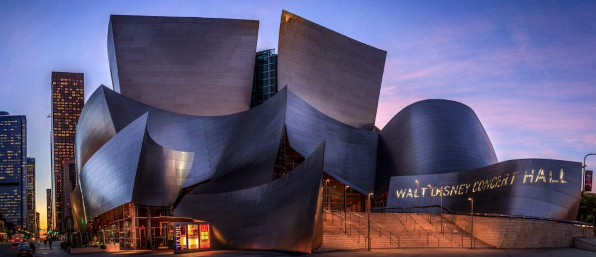 Image of the Walt Disney Concert Hall.